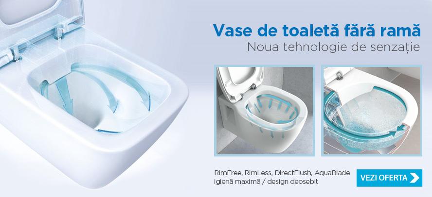 Vase wc fara rama Rimless Rimfree DirectFlush