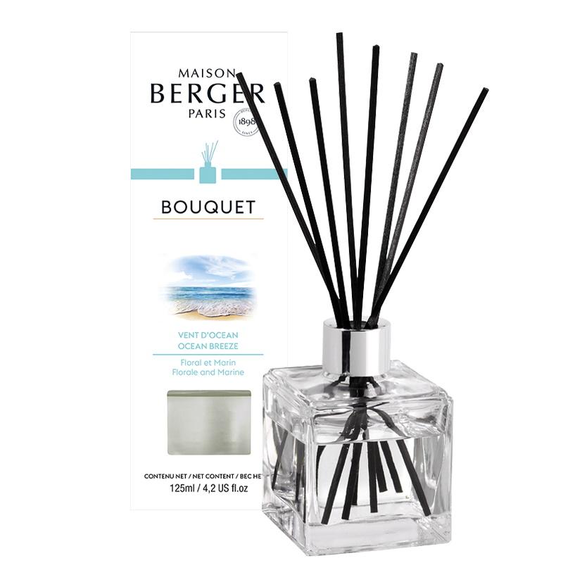 Difuzor parfum camera Berger Bouquet Parfume Cube Vent d'Ocean 125ml imagine