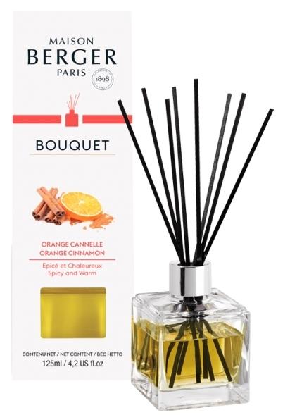 Difuzor parfum camera Berger Bouquet Parfume Cube Orange de Cannelle 125ml imagine