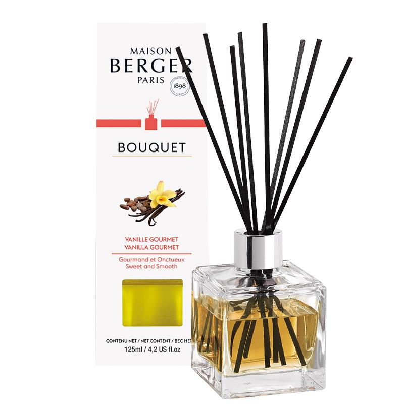 Difuzor parfum camera Berger Bouquet Parfume Cube Vanille Gourmet 125ml poza