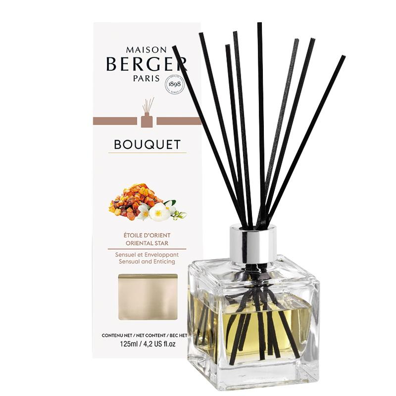 Difuzor parfum camera Berger Bouquet Parfume Cube Etoile d'Orient 125ml poza