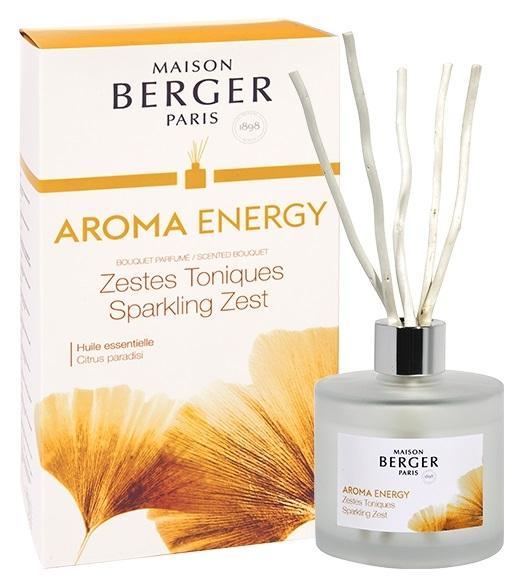 Difuzor parfum camera Berger Aroma Energy Zestes Toniques180ml poza