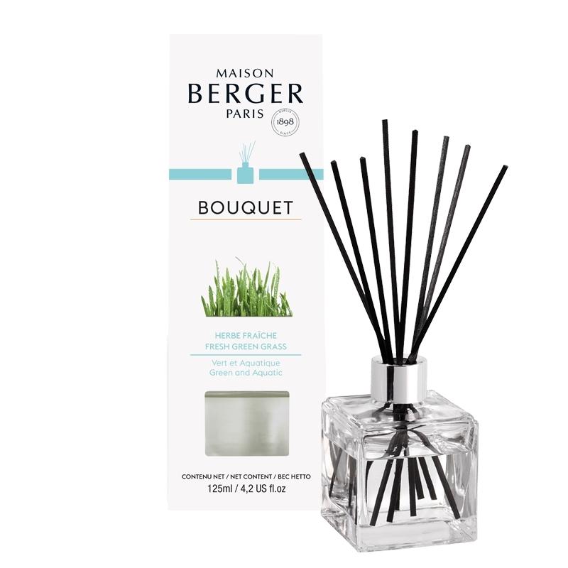 Difuzor parfum camera Berger Bouquet Parfume Cube Herbe Fraiche 125ml poza