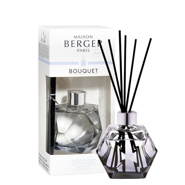 Difuzor parfum camera Berger Bouquet Parfume Geometry Reglisse - Caresse de coton 180ml imagine