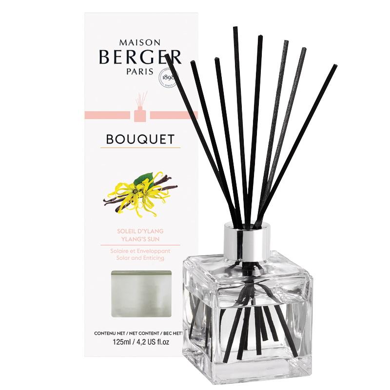 Difuzor parfum camera Berger Bouquet Parfume Cube Soleil d'Ylang 125ml imagine