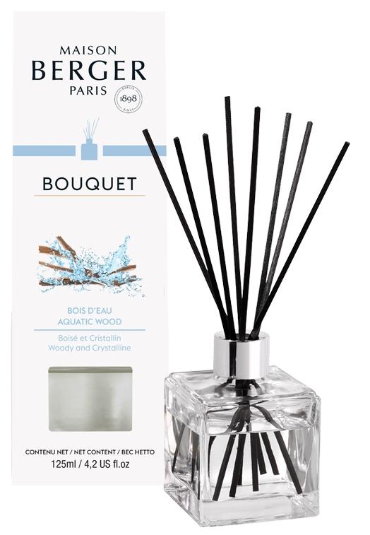 Difuzor parfum camera Berger Bouquet Parfume Cube Bois d'Eau 125ml poza