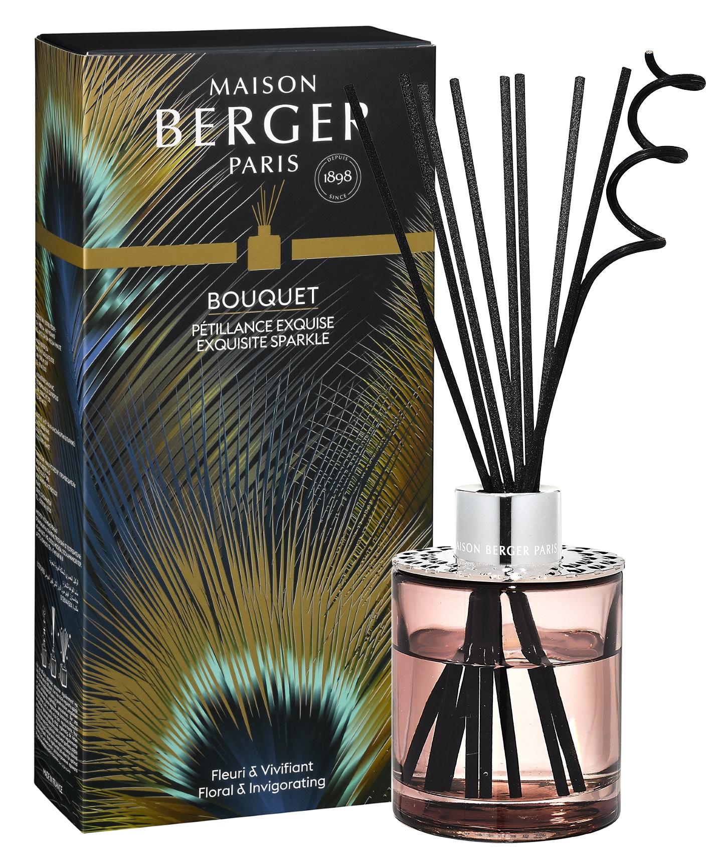 Difuzor parfum camera Berger Bouquet Parfume Cube Etincelle Exquisite Sparkle 200ml poza