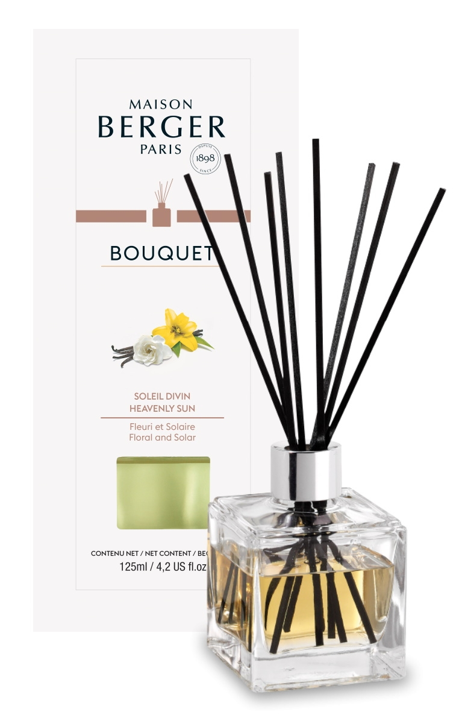 Difuzor parfum camera Berger Bouquet Parfume Cube Soleil Divin 125ml imagine