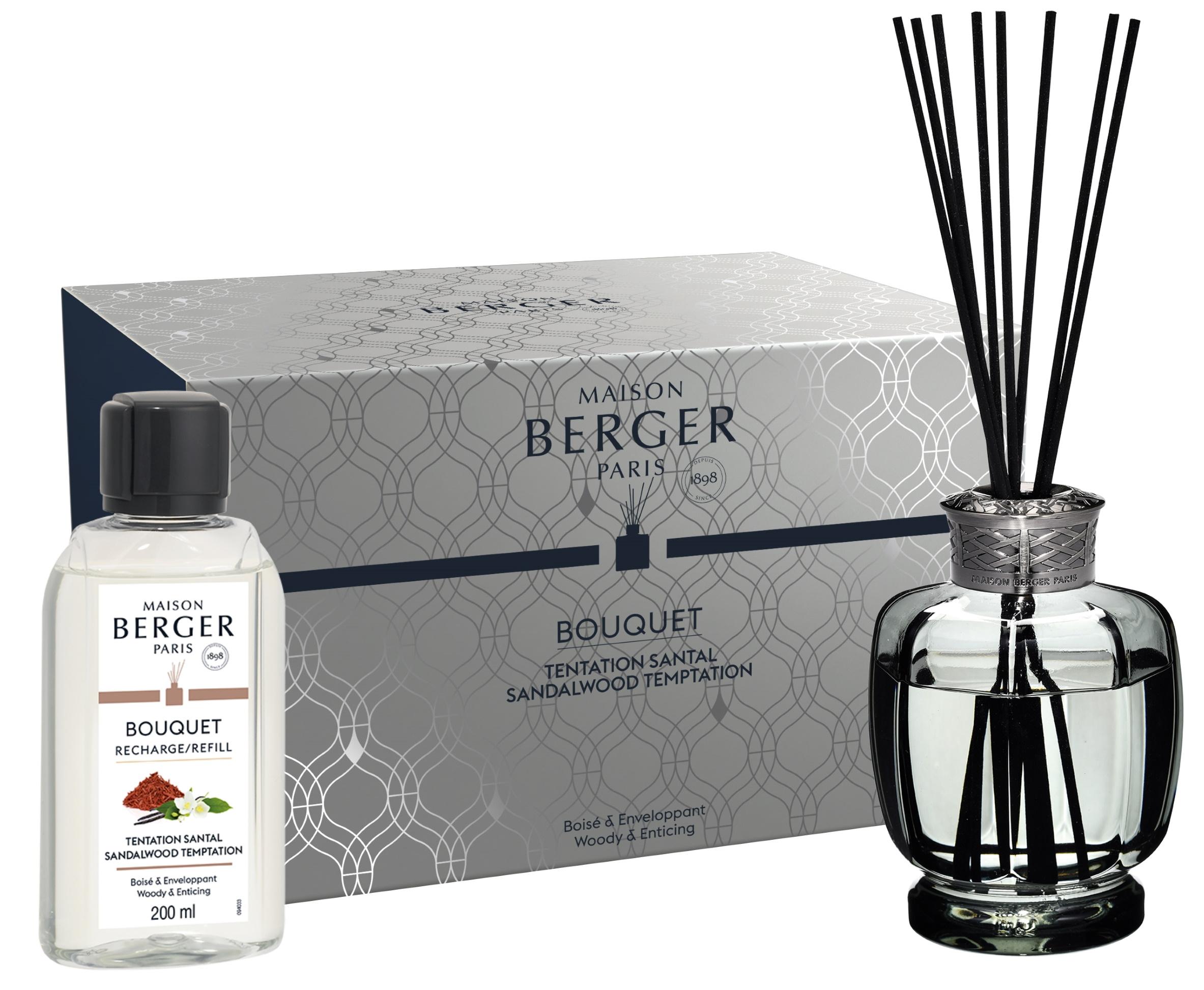 Difuzor parfum camera Berger Bouquet Parfume Belle Epoque Grise Sandalwood Temptation 200ml poza