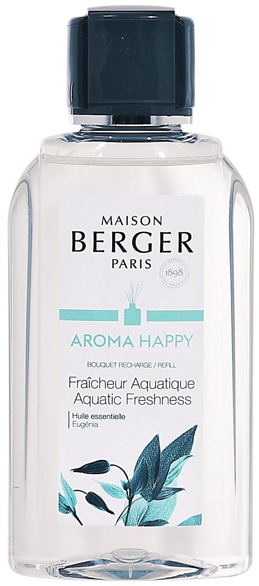 Parfum pentru difuzor Berger Aroma Happy Fraicheur Aquatique 200ml poza