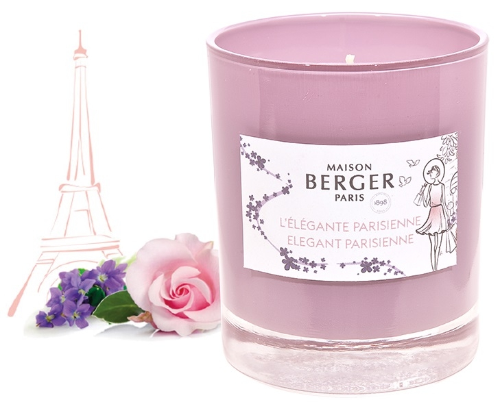 Lumanare parfumata Berger Graphique Elegante Parisienne 210g poza