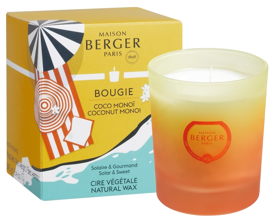 Lumanare parfumata Berger Blissful Coconut Monoi 240g poza