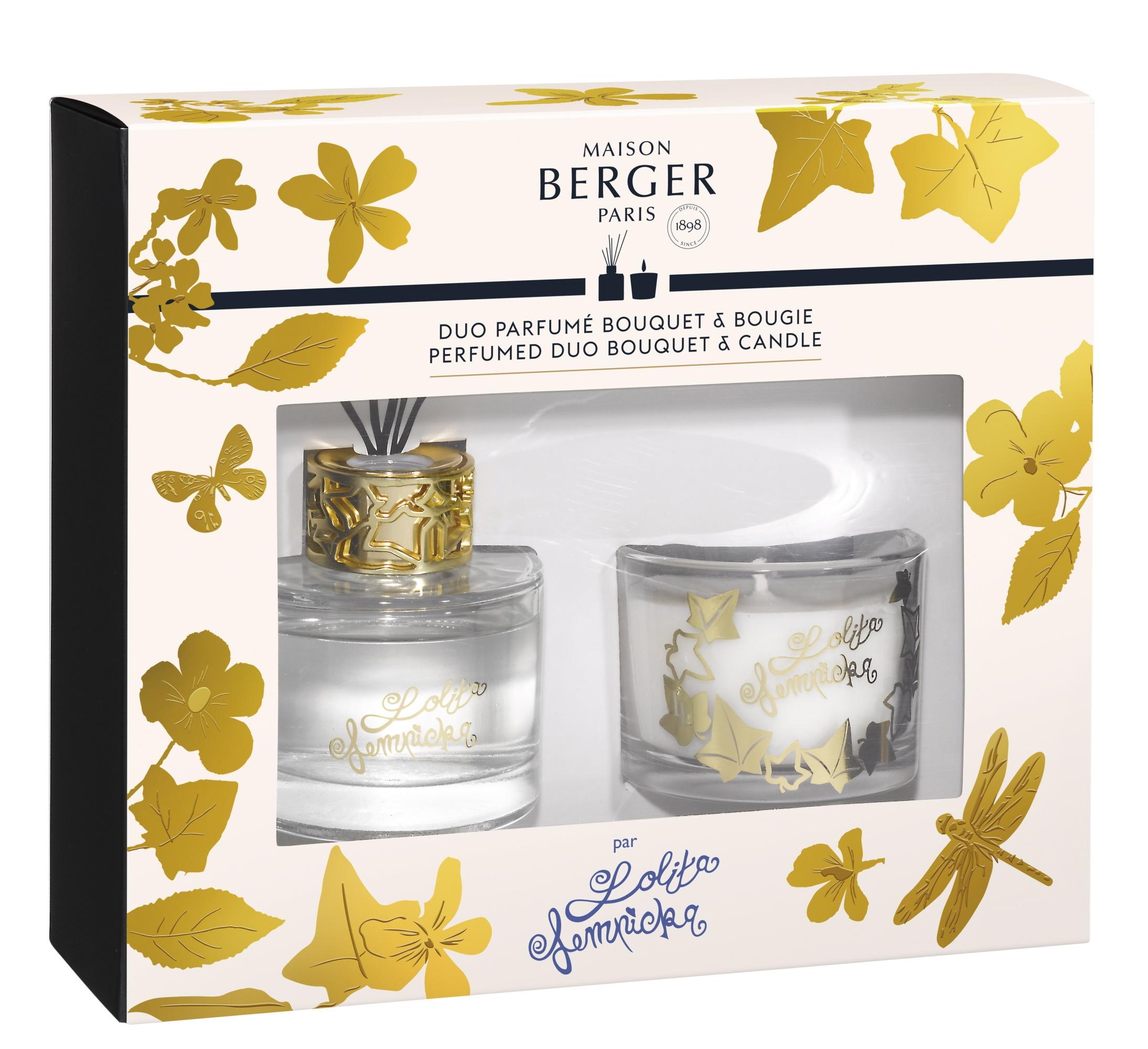 Set Berger Duo Lolita Lempicka Bouquet Parfume 80ml + lumanare parfumata 80g imagine