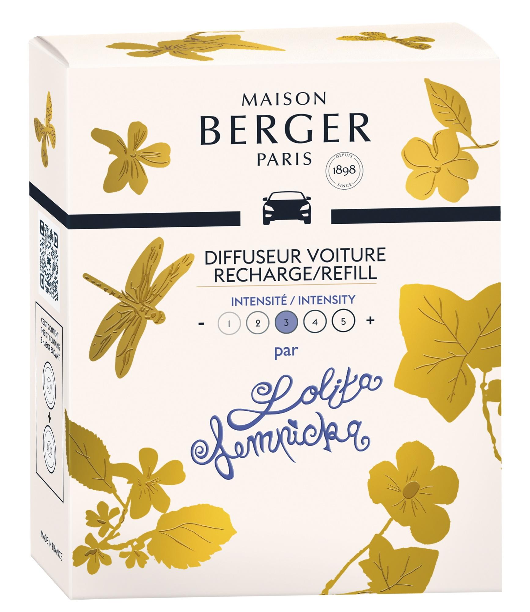 Rezerve ceramice odorizant masina Berger Lolita Lempicka poza