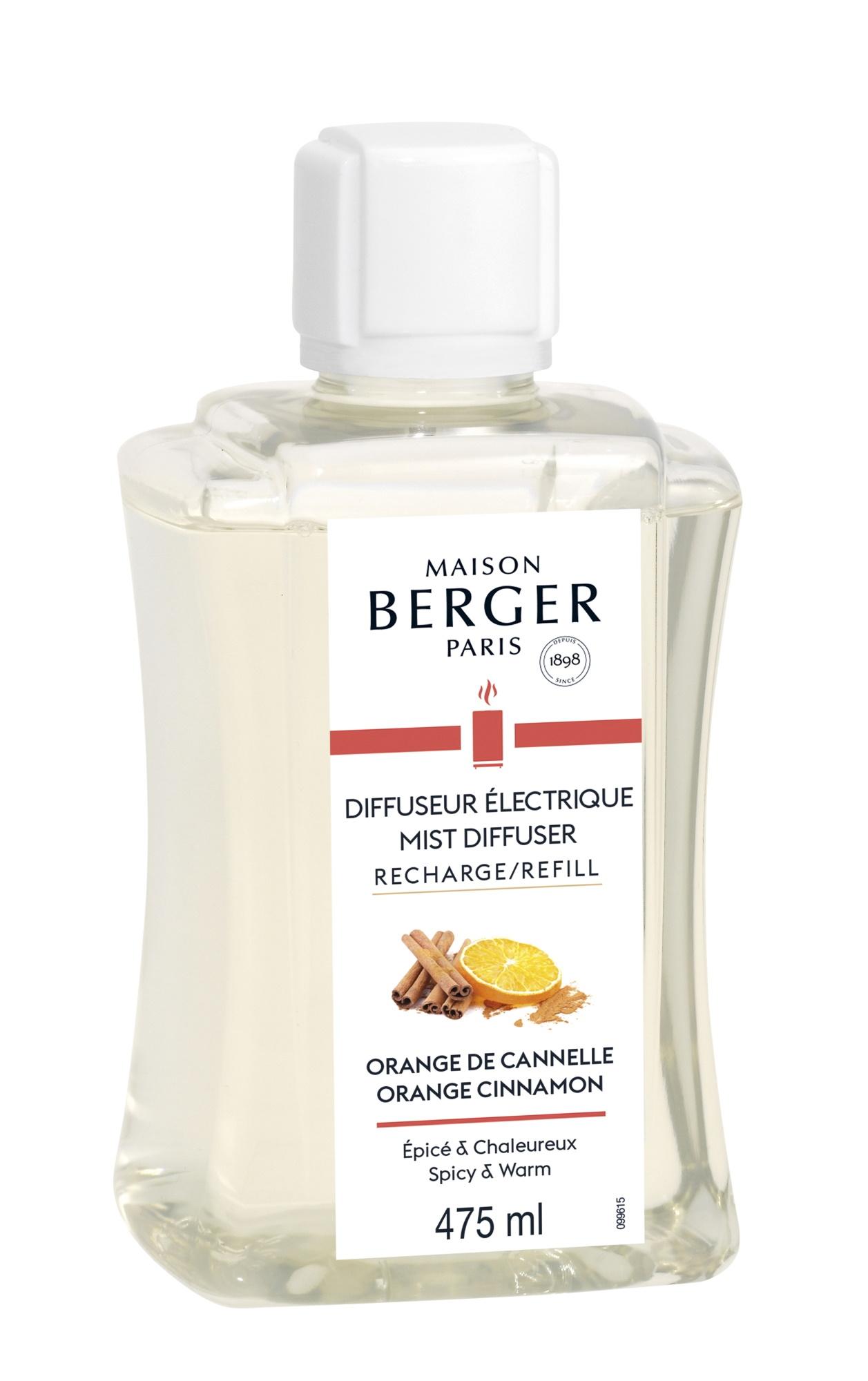 Parfum pentru difuzor ultrasonic Berger Orange de Cannelle 475ml poza