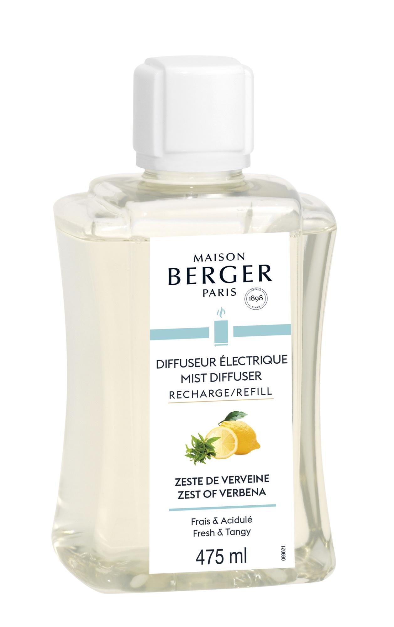 Parfum pentru difuzor ultrasonic Berger Zeste de Verveine 475ml poza