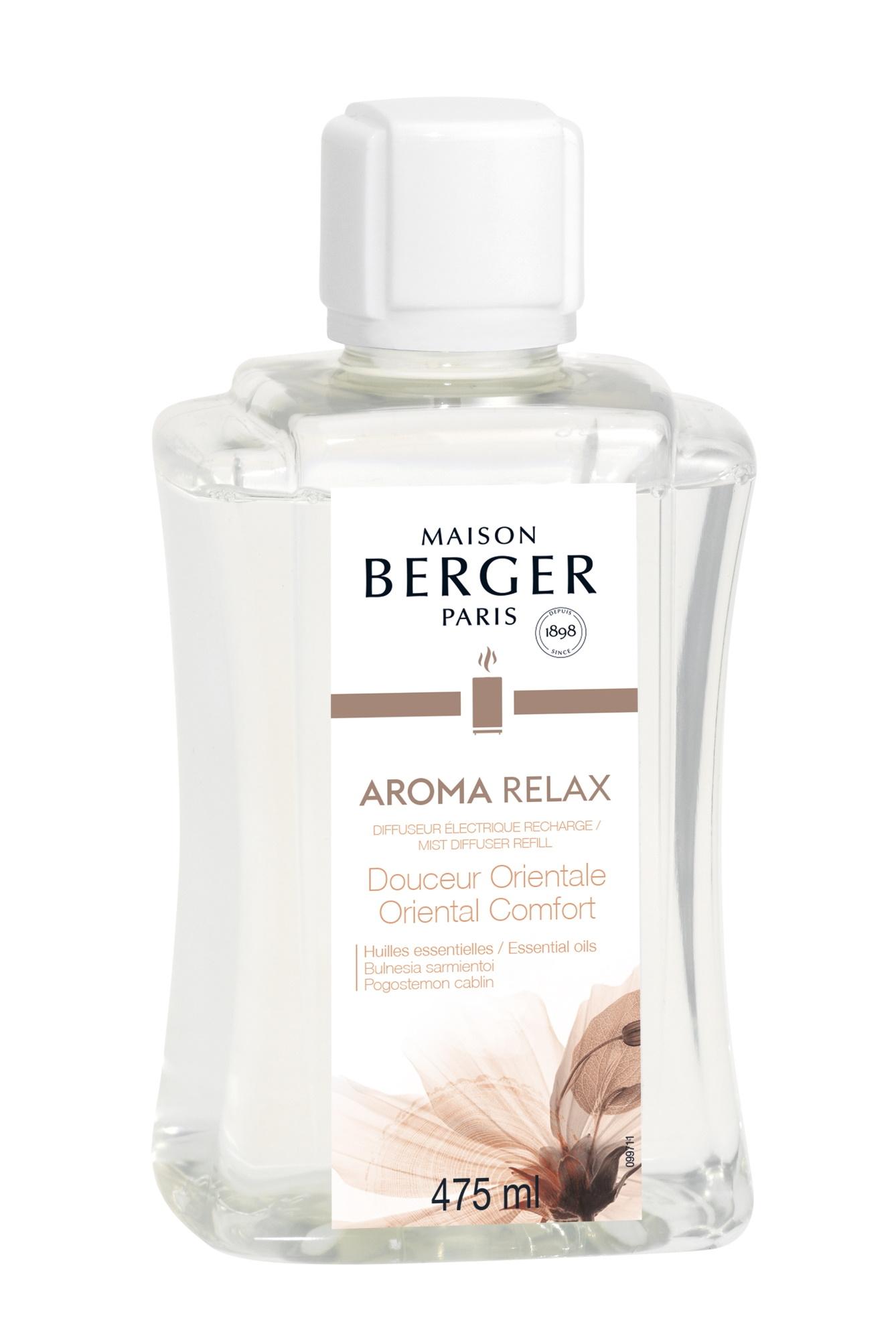Parfum pentru difuzor ultrasonic Berger Aroma Relax - Douceur Orientale 475ml poza