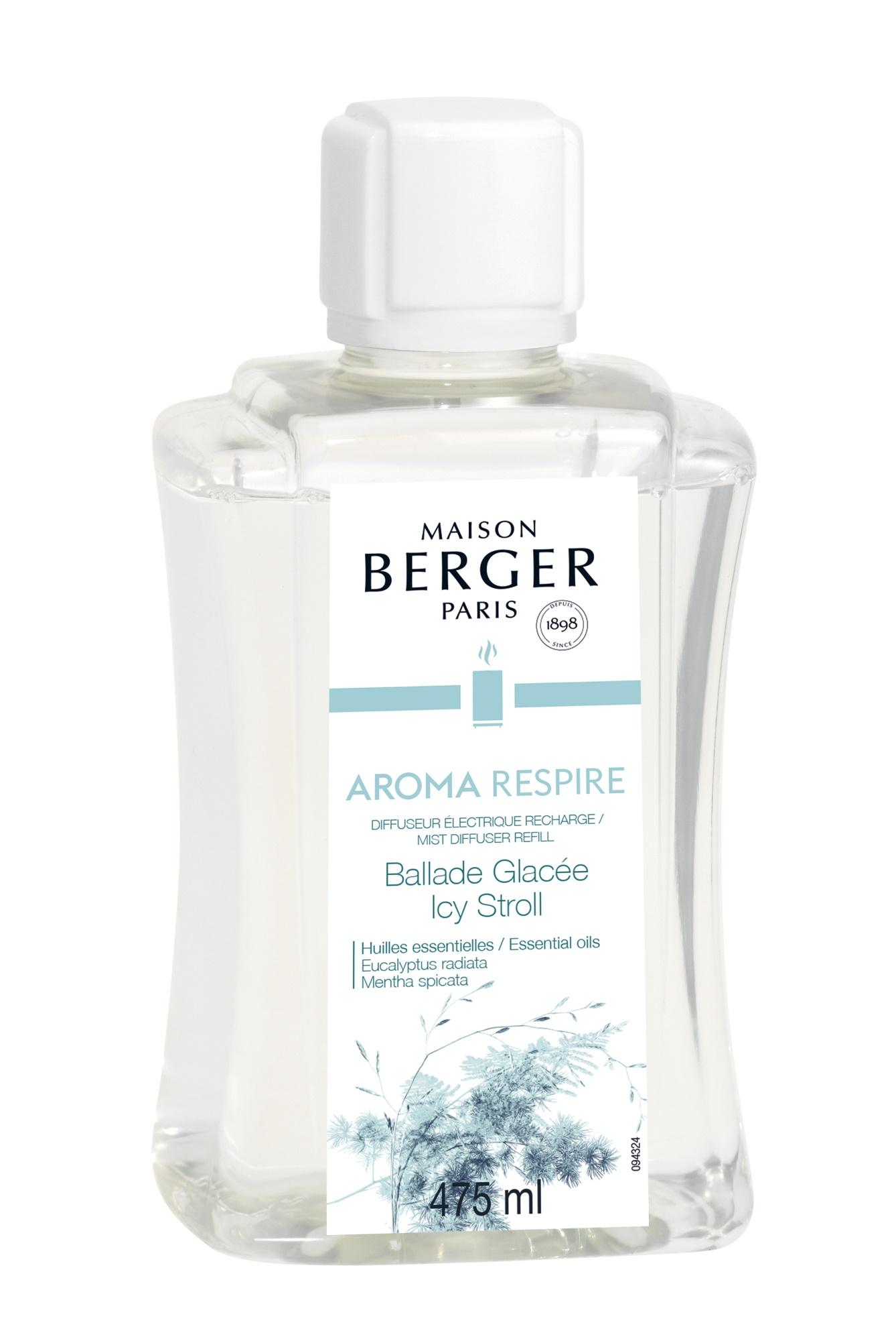 Parfum pentru difuzor ultrasonic Berger Aroma Respire 475ml poza