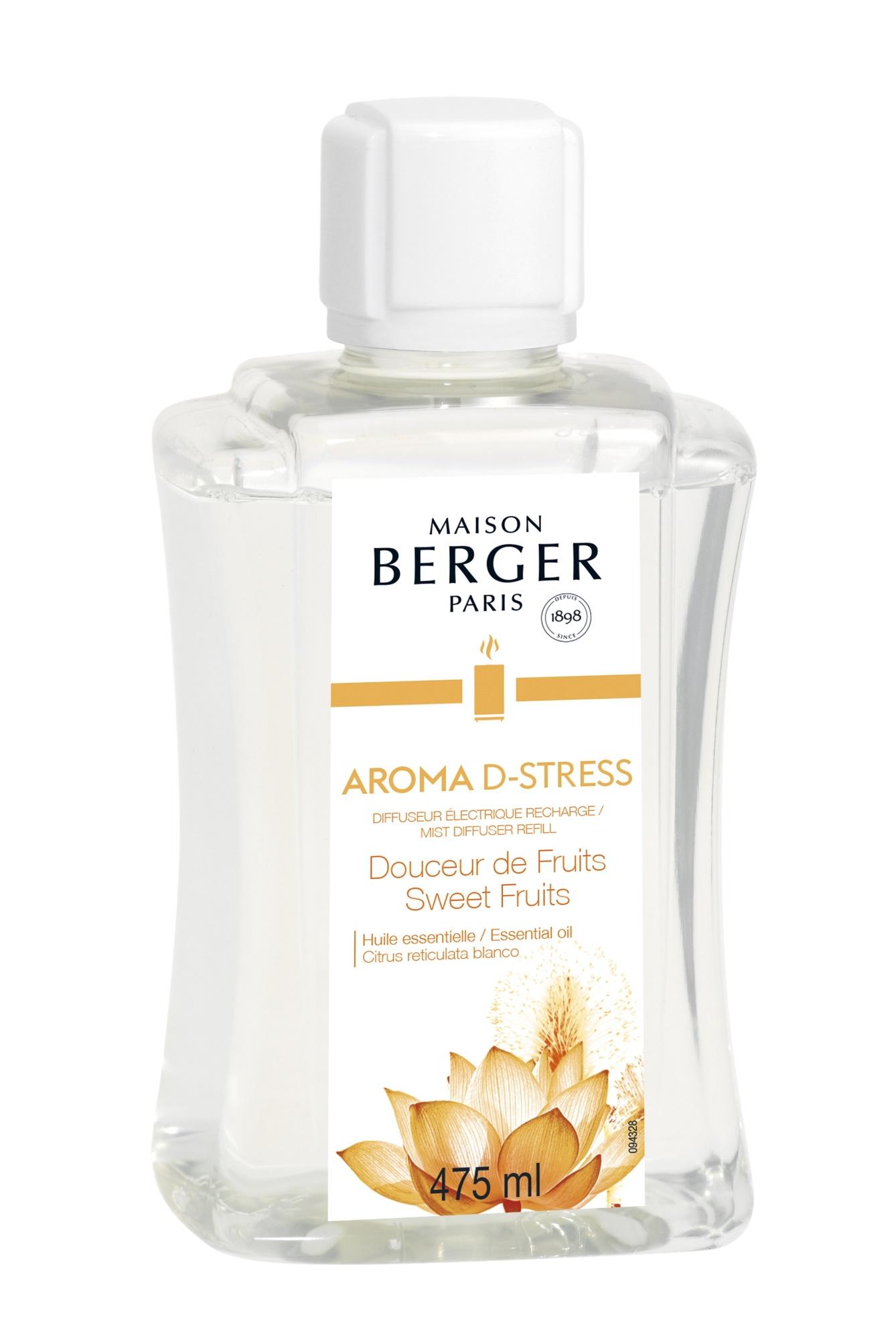 Parfum pentru difuzor ultrasonic Berger Aroma D-Stress 475ml poza