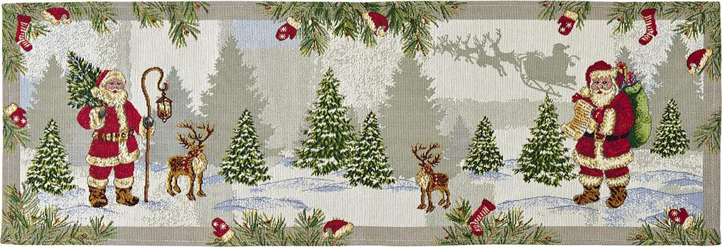 Suport farfurii Sander Gobelins Hey Santa! 32x48cm 40 Original poza