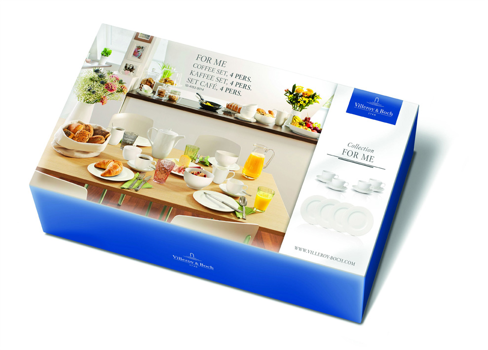 Set cafea 4 persoane Villeroy & Boch For Me Sets 12 piese poza