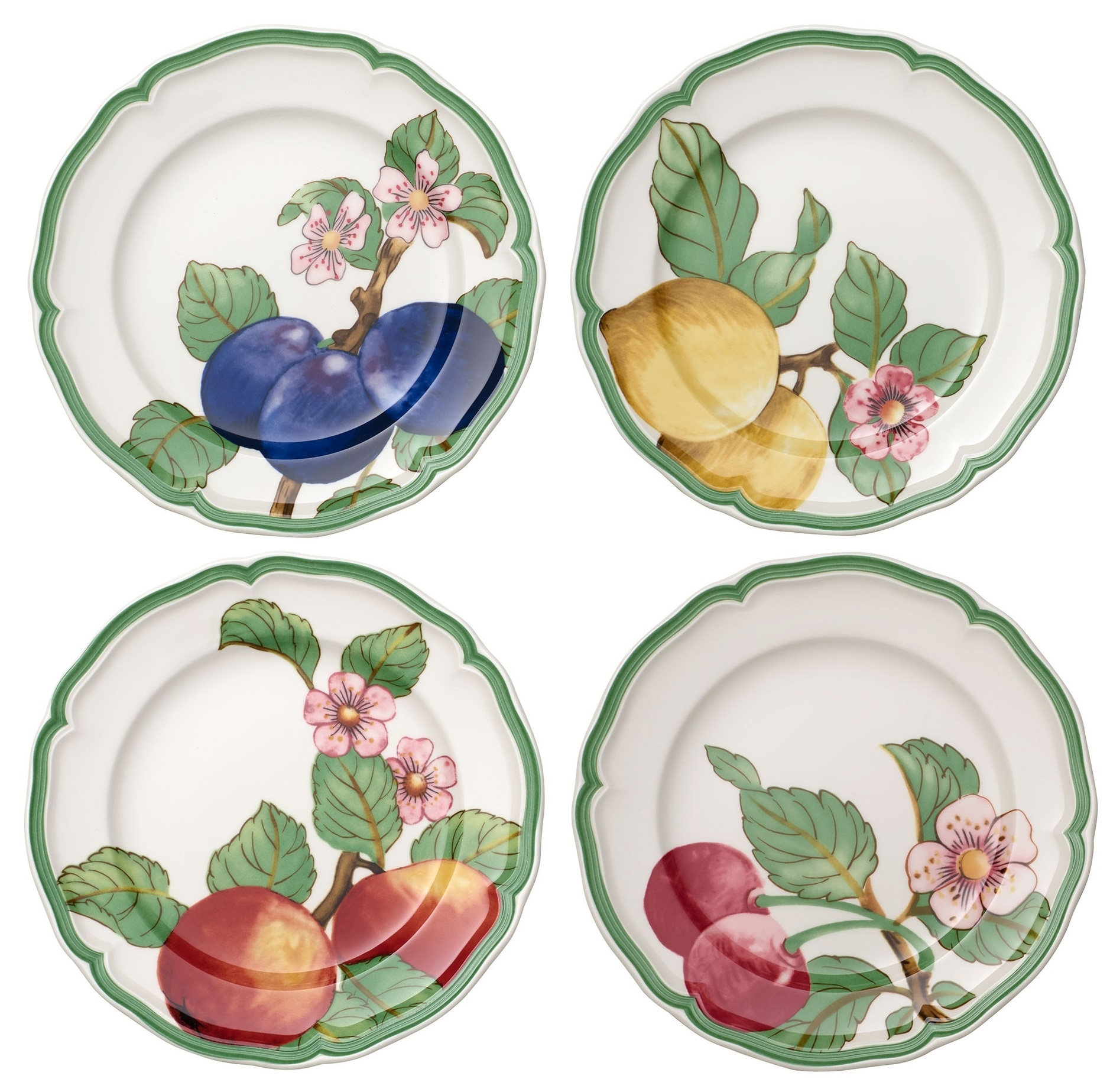 Set 4 farfurii Villeroy & Boch French Garden Modern Fruits Salad 21cm poza