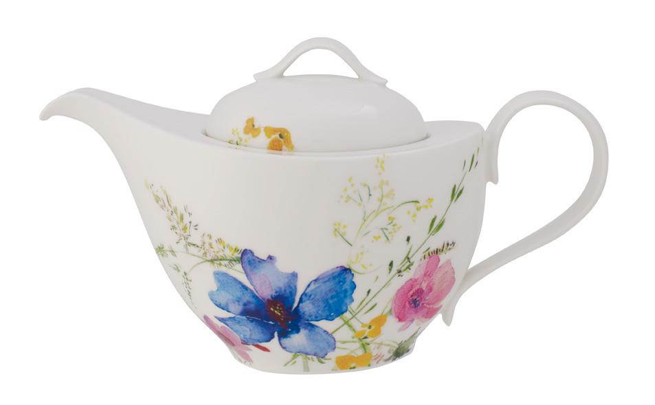 Vas servire ceai Villeroy & Boch Mariefleur Basic 1.20 litri 6 persoane poza