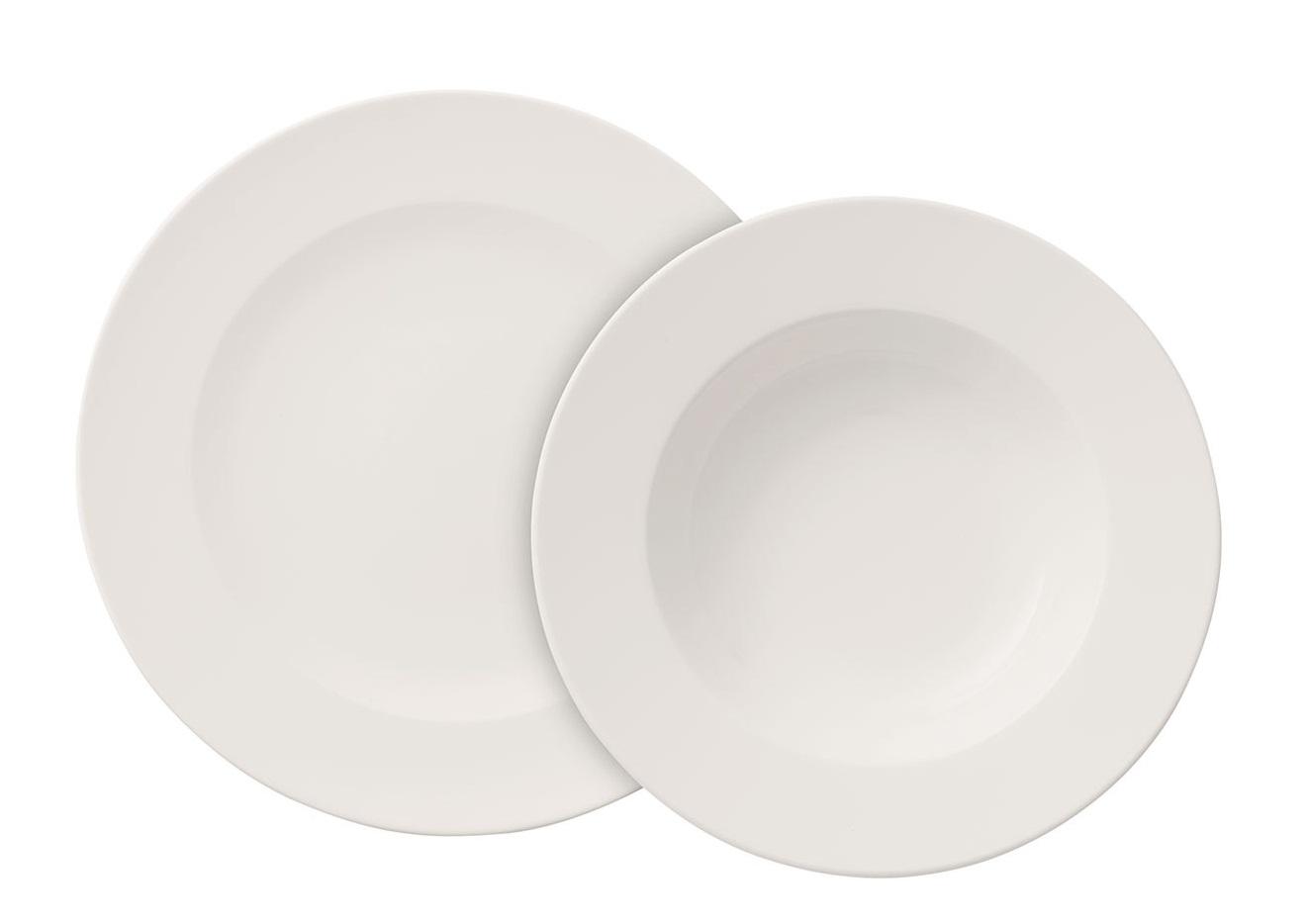 Set Villeroy & Boch For Me Dinner 6 farfurii plate si 6 farfurii adanci