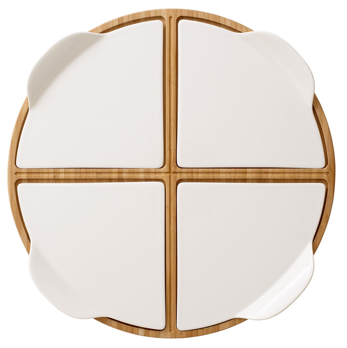 Platou rotund Villeroy & Boch Pizza Passion Party Plate 35cm poza