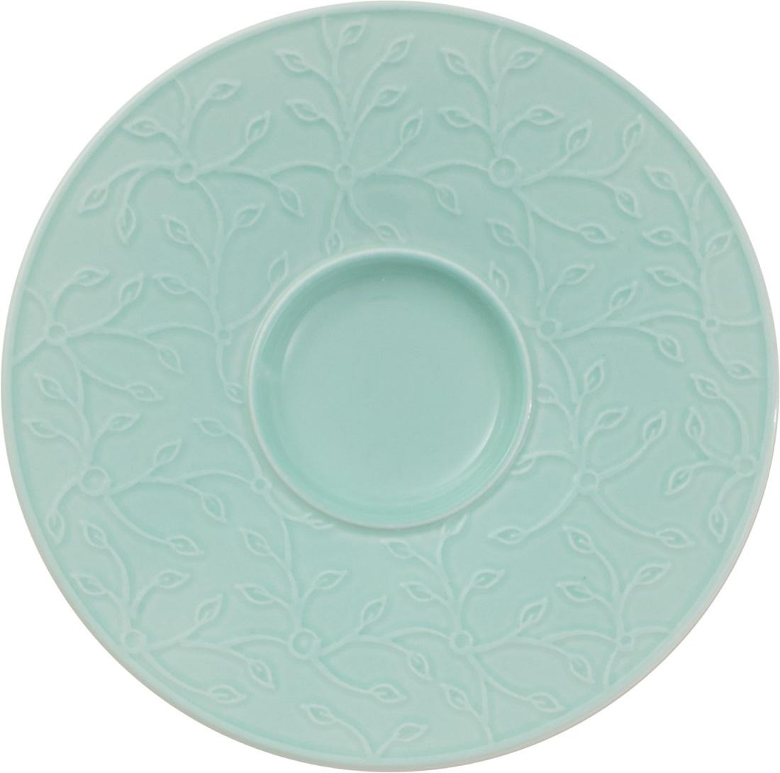 Farfuriuta pentru ceasca de cafea Villeroy & Boch Floral Touch of Ivy 14cm poza