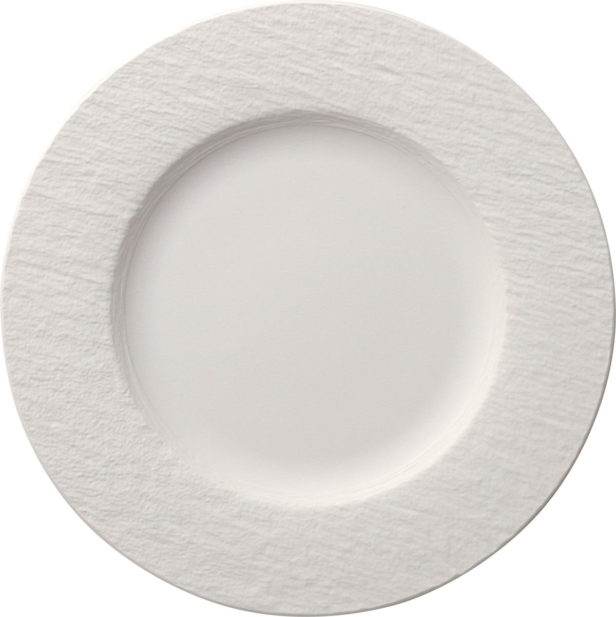 Farfurie plata Villeroy & Boch Manufacture Rock Blanc 27cm poza