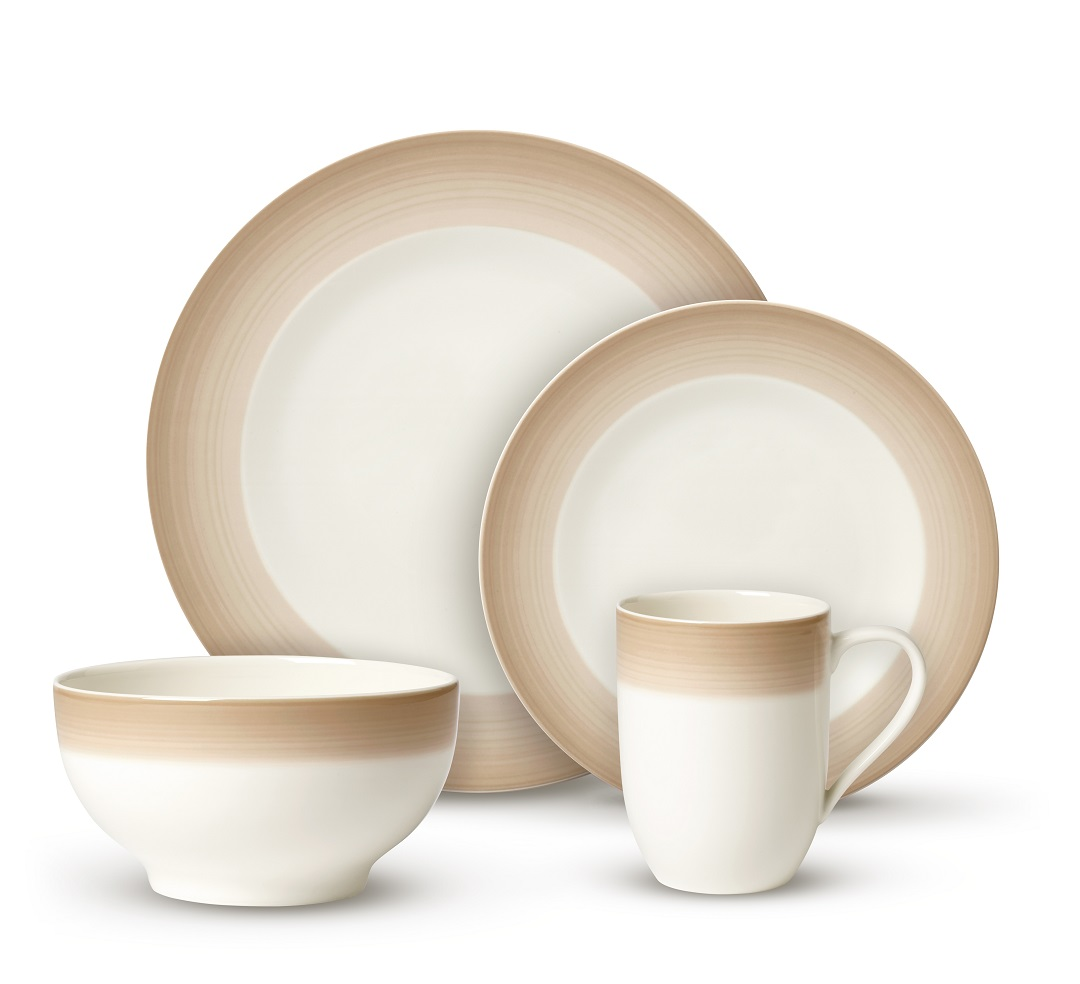 Set Villeroy & Boch Colourful Life Natural Cotton For Me & You 8 Piese