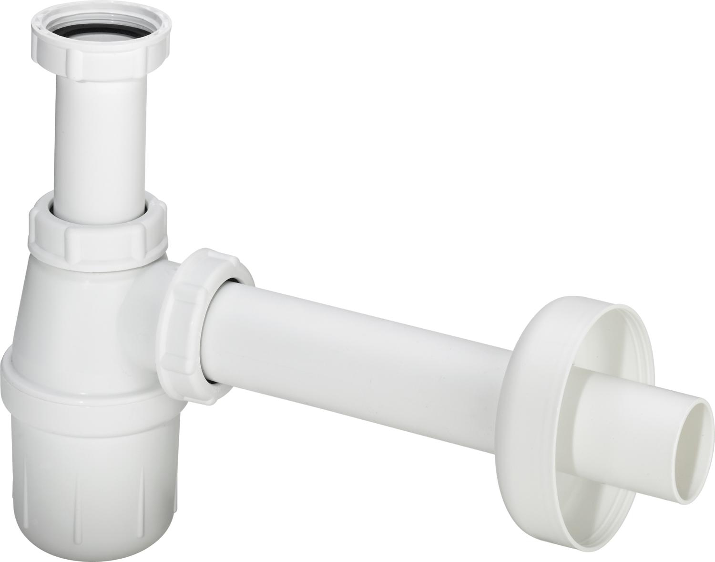 Sifon pentru lavoar Viega 32mm plastic alb imagine sensodays.ro