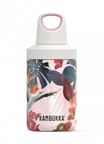 Sticla termos Kambukka Reno cu capac Twist inox 300 ml Orchids poza