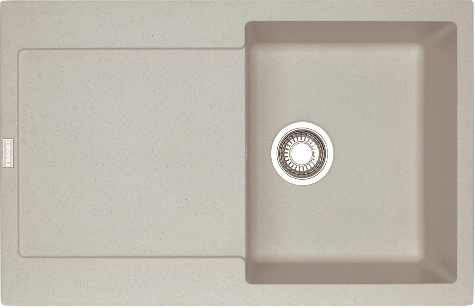 Chiuveta bucatarie fragranite Franke Maris MRG 611 reversibila 780x500mm tehnologie Sanitized Sahara imagine sensodays.ro