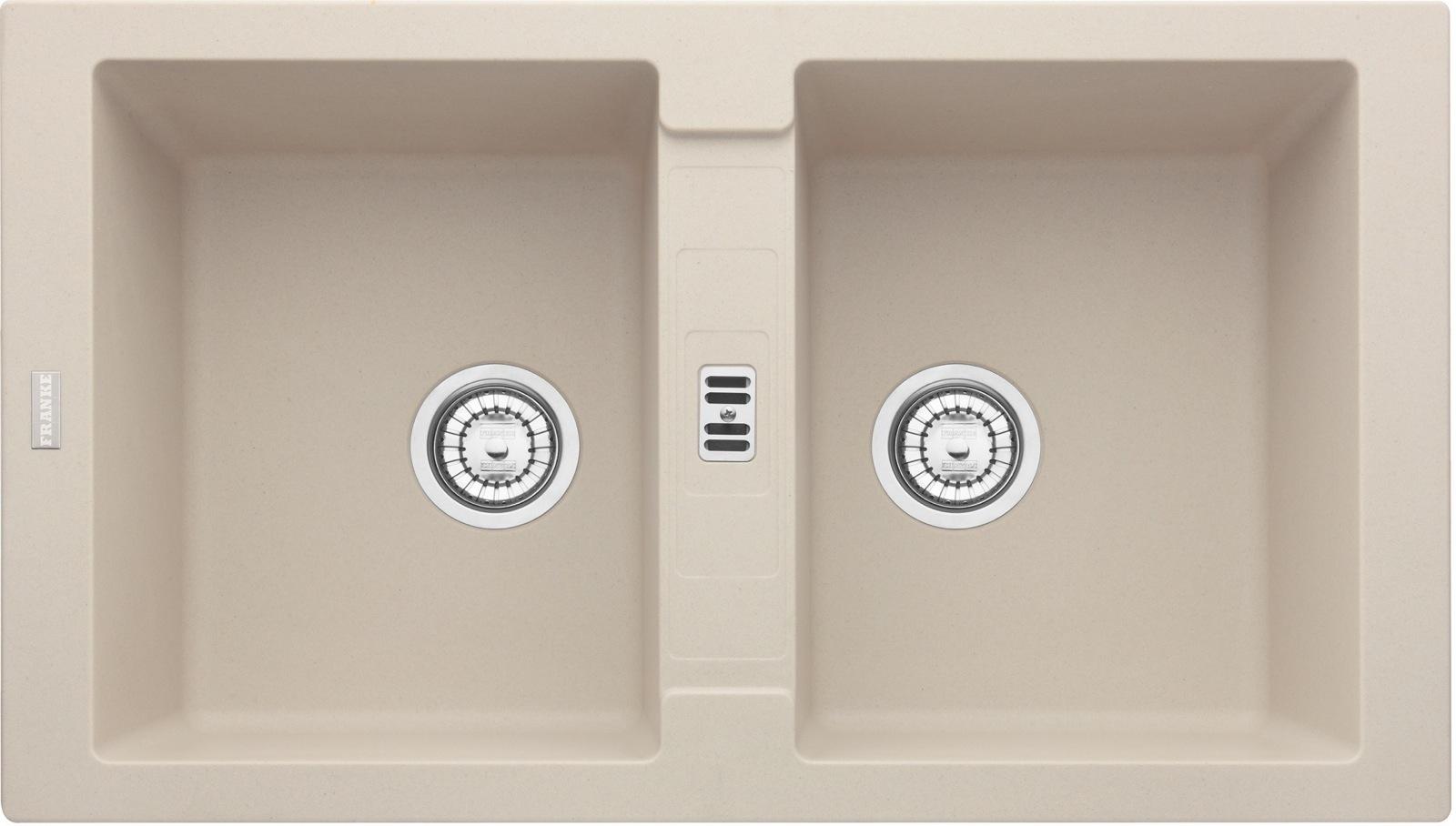 Chiuveta fragranite Franke Maris MRG 620 reversibila 860x500 tehnologie Sanitized Sahara