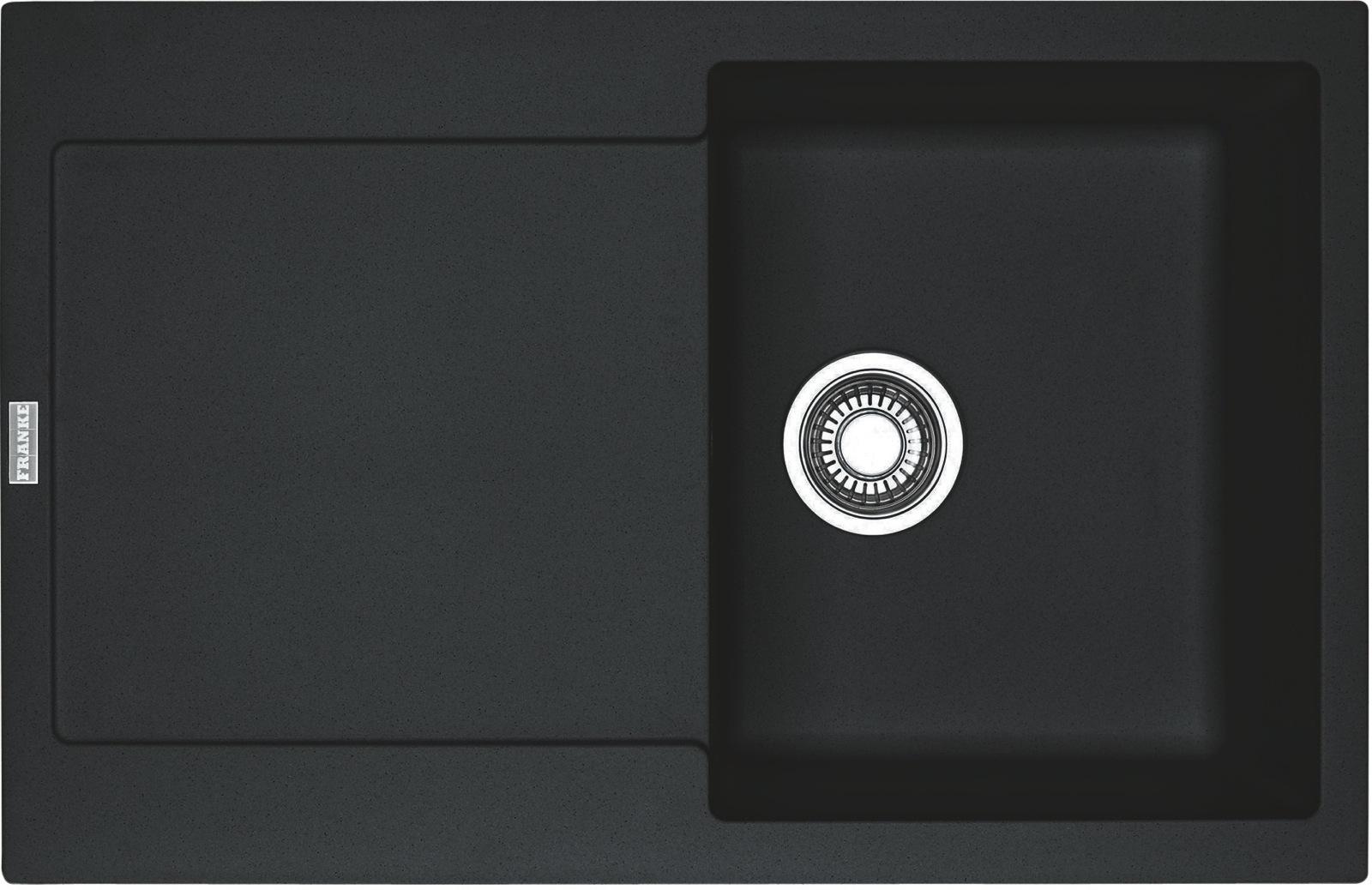 Chiuveta fragranite Franke Maris MRG 611 reversibila 780x500 tehnologie Sanitized Nero