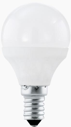 Bec LED Eglo 11419 E14 4W alb cald 3000K 15000h imagine sensodays.ro