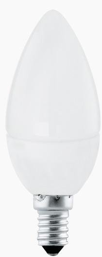 Bec LED Eglo 11421 E14 4W alb cald 3000K 15000h imagine sensodays.ro