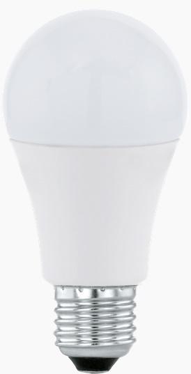 Bec LED Eglo 11476 E27 7W alb cald 3000K 15000h imagine sensodays.ro