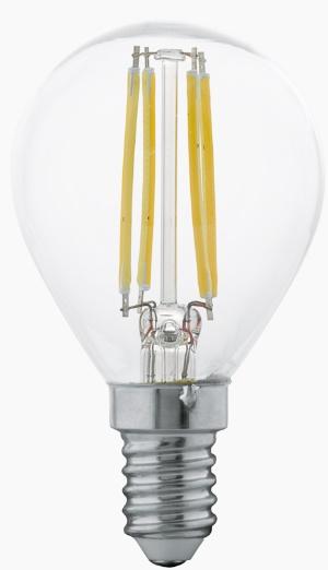 Bec LED Eglo 11499 E14 4W alb cald 2700K 15000h poza