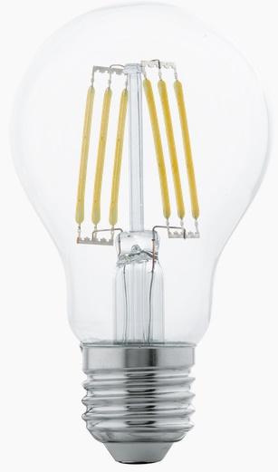Bec LED Eglo 11501 E27 6W alb cald 2700K 15000h imagine sensodays.ro
