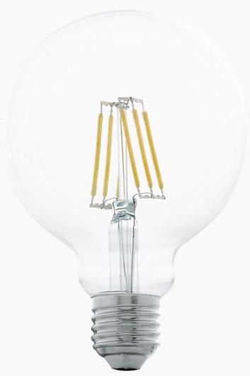 Bec LED Eglo 11503 E27 6W alb cald 2700K 15000h imagine sensodays.ro
