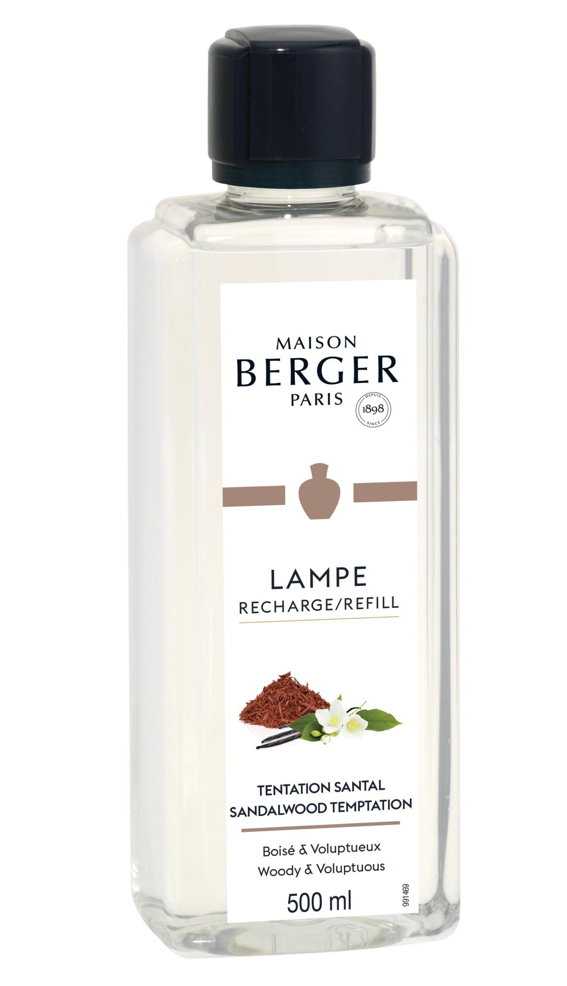 Parfum pentru lampa catalitica Berger Sandalwood Temptation 500ml imagine