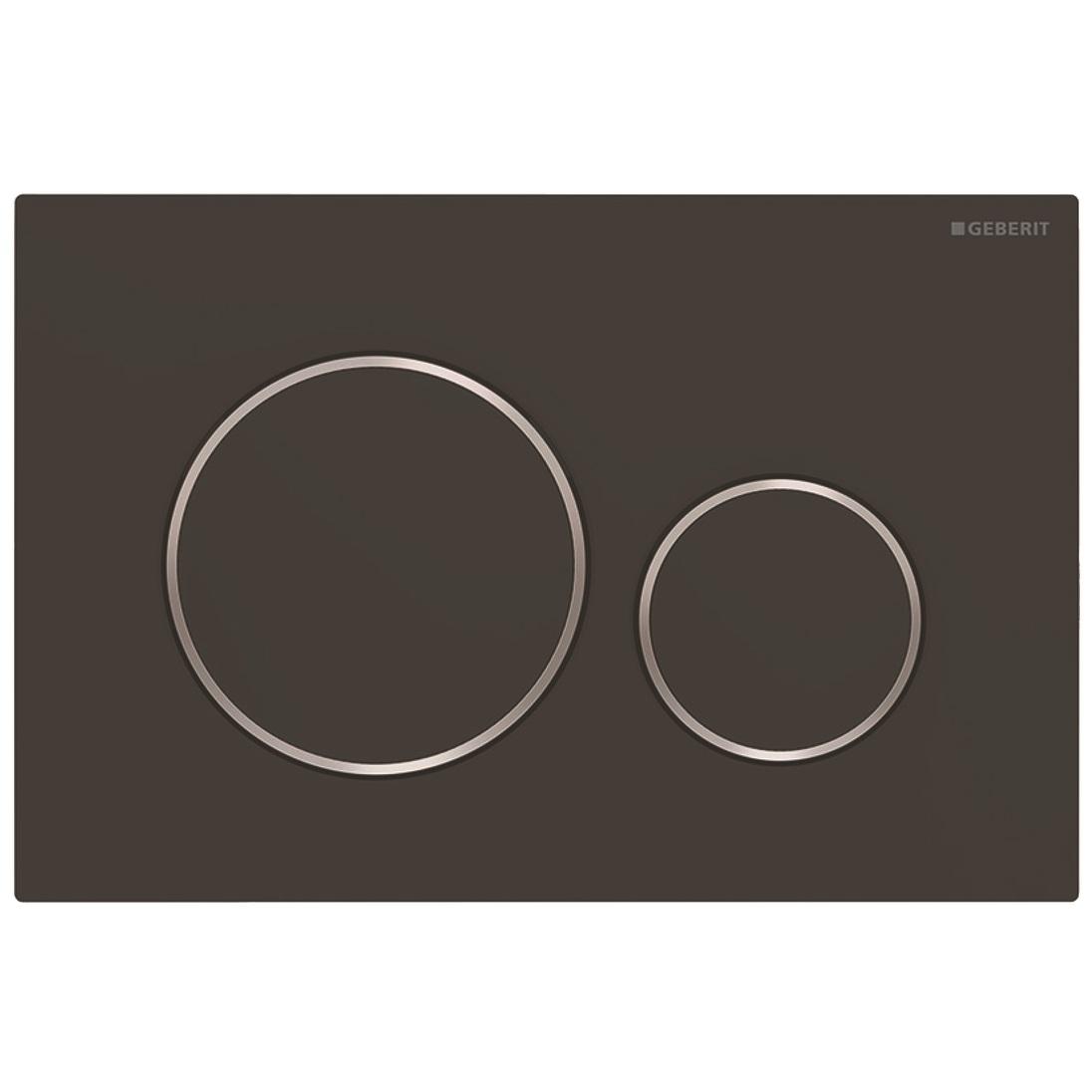 Clapeta actionare Geberit Sigma20 EasyToClean negru mat