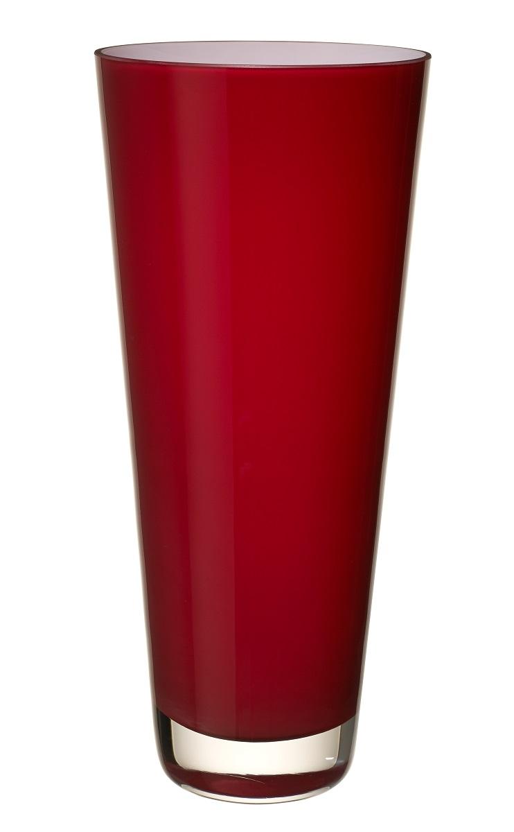 Vaza Villeroy & Boch Verso 38cm deep cherry poza