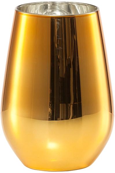 Set 2 pahare apa Schott Zwiesel Vina Shine Gold 397ml poza