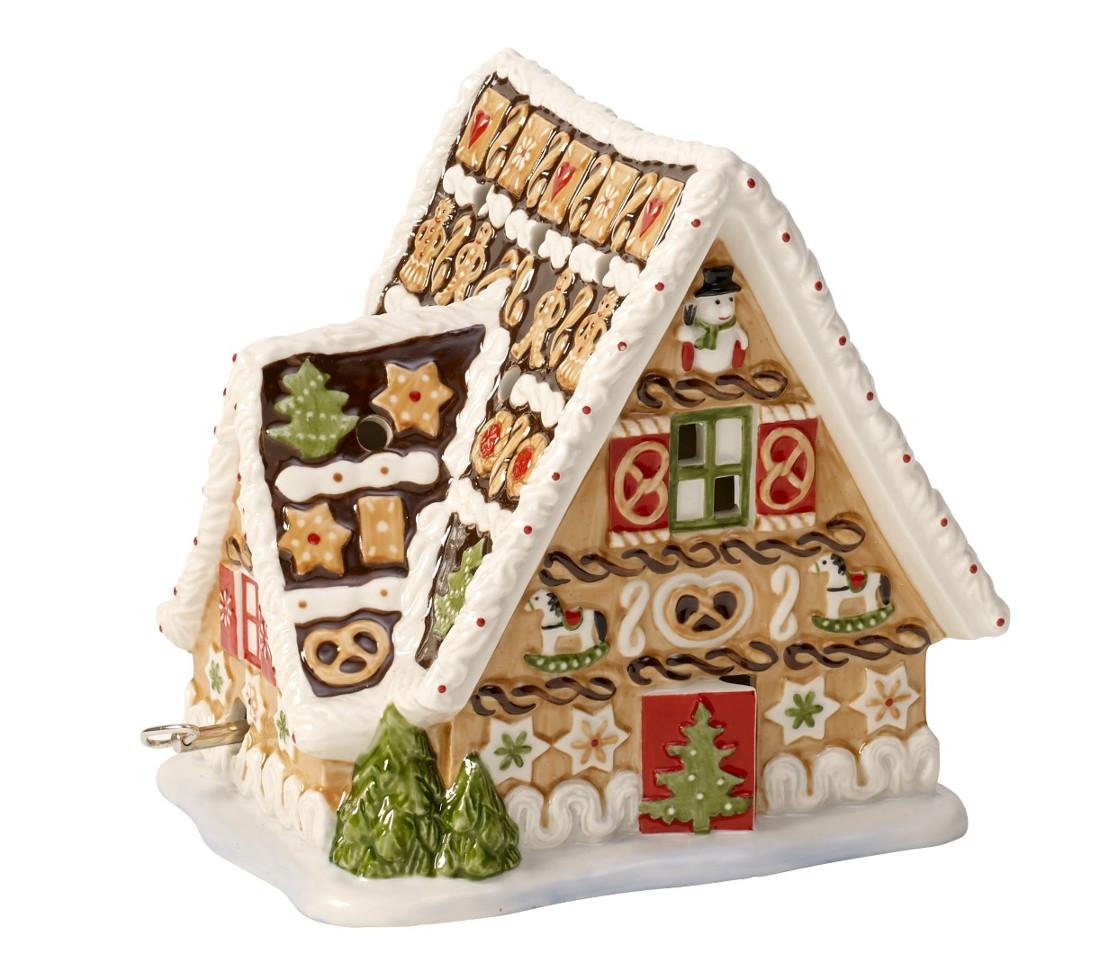 Decoratiune Villeroy & Boch Christmas Toys Gingerbread House 16x13x16cm poza