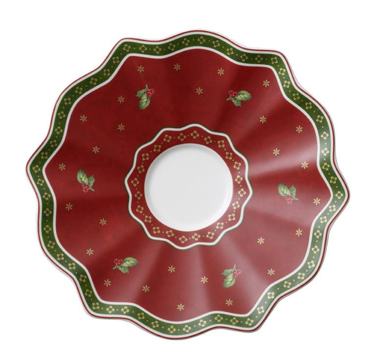 Farfuriuta pentru ceasca de cafea Villeroy & Boch Toy's Delight White 19cm poza