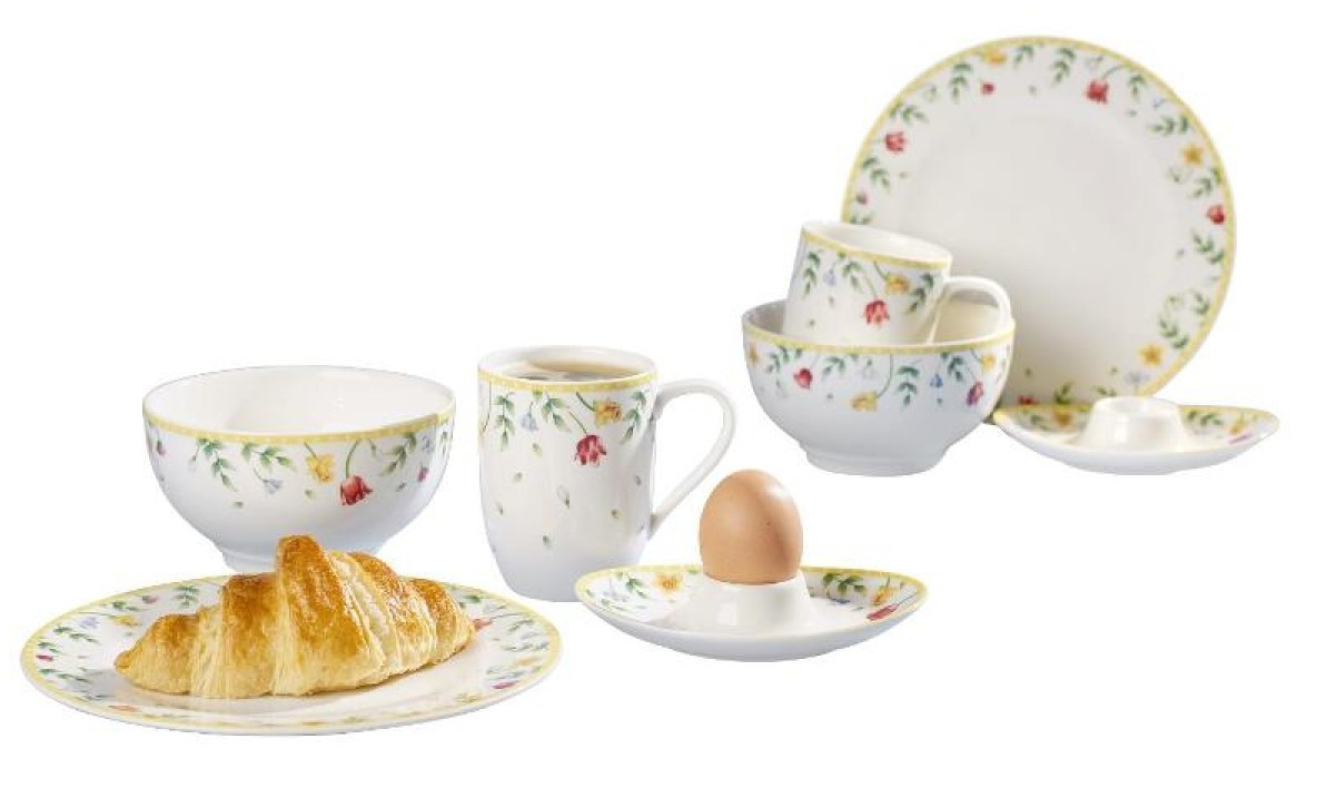 Set Villeroy & Boch Spring Awakening Breakfast for Two 8 piese